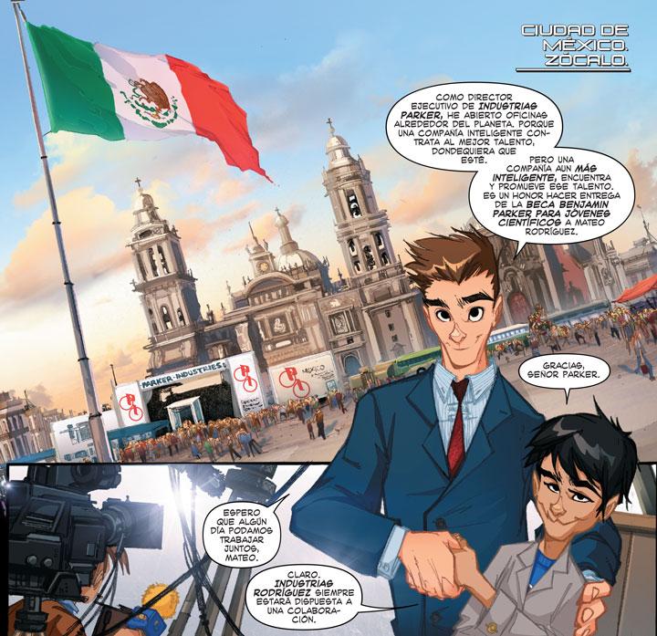 Spider-Man mueve a la Ciudad de México... ¡Literalmente hablando!