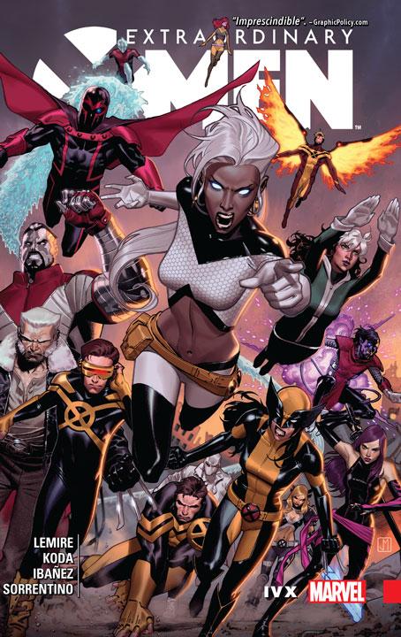 Extraordinary X-Men Vol. 4: Contra los insólitos Inhumanos