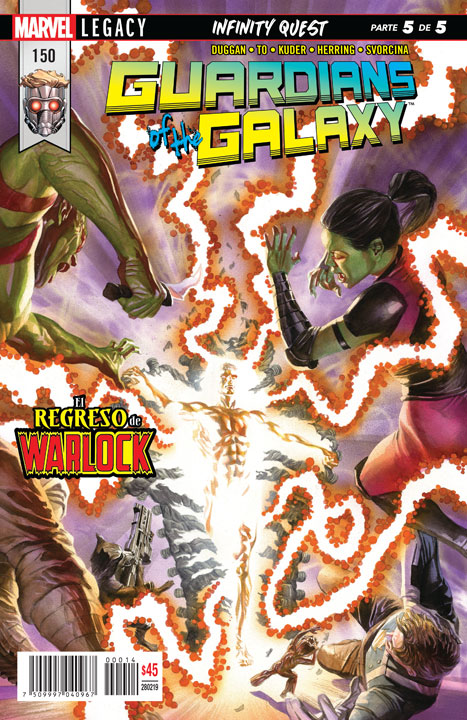 Guardians of the Galaxy #150