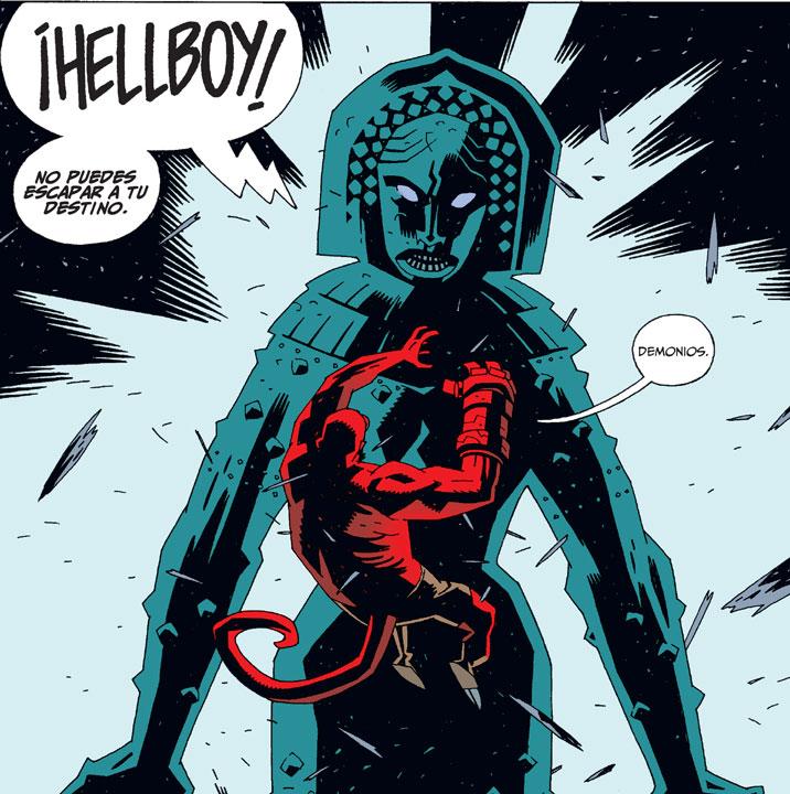 ¿Qué culturas han inspirado las historias de Hellboy?