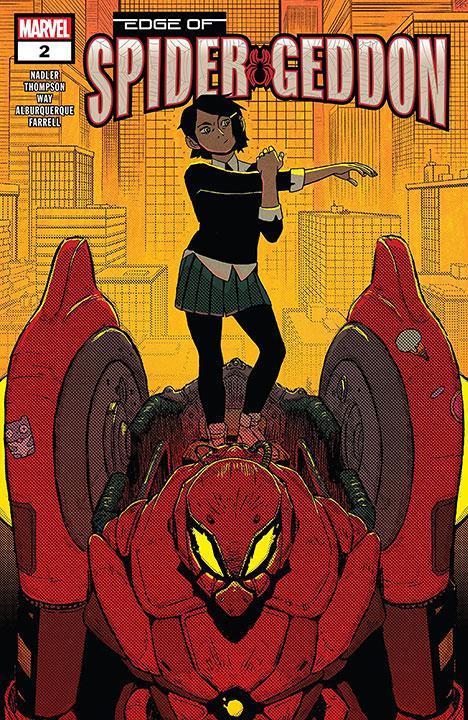La llegada de Edge of Spider-Geddon a Marvel Cómics México