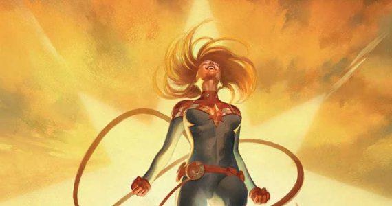 La Vida de Captain Marvel: Un viaje de Boston a los confines del Universo Marvel
