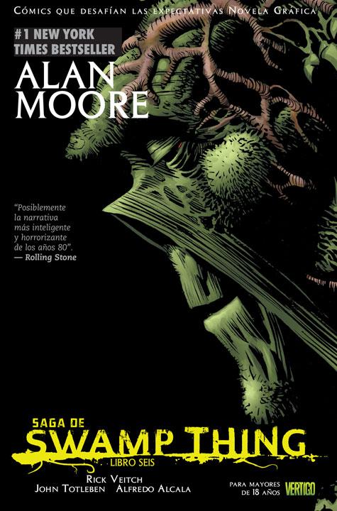Cómics que Desafían las Expectativas Novela Gráfica: Saga de Swamp Thing Libro 6