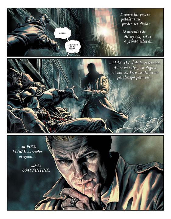 La visión de Bermejo que hace diferente a Batman: Damned