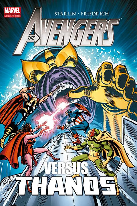 Marvel Monster Edition The Avengers vs Thanos