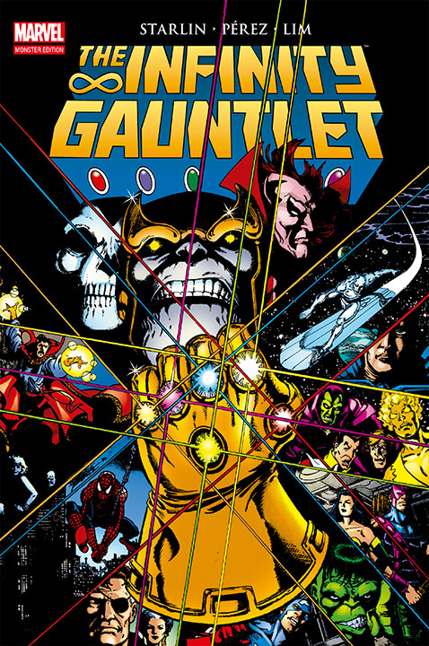 Marvel Monster Edition The Infinity Gauntlet