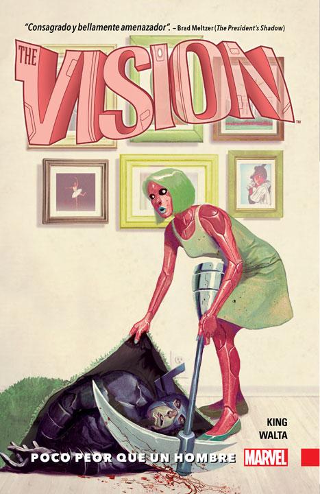 Vision Vol. 1: Poco peor que un hombre