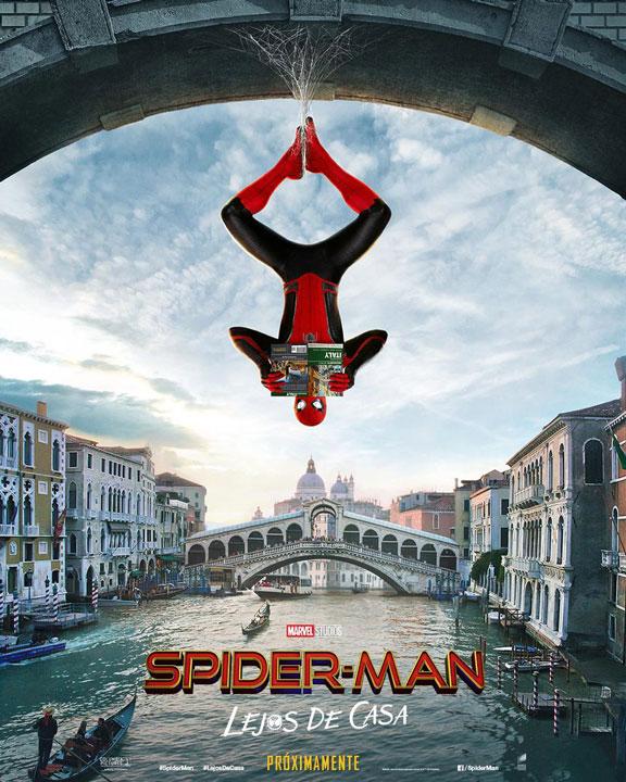 A viajar con los nuevos pósters de Spider-Man: Far From Home