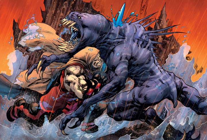 Rogol Zarr, la flamante amenaza que llega a The Man of Steel