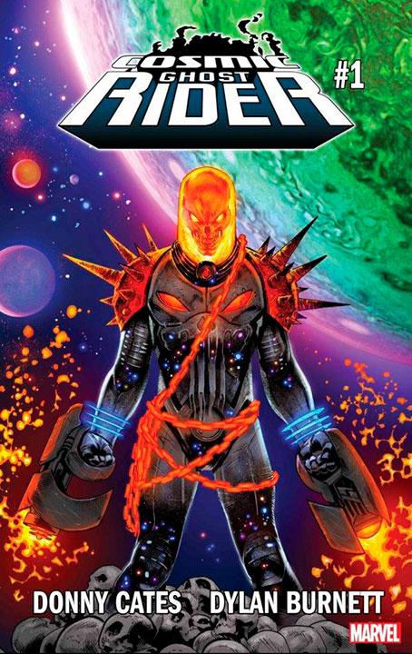 Cosmic Ghost Rider dispuesto a desatar la locura