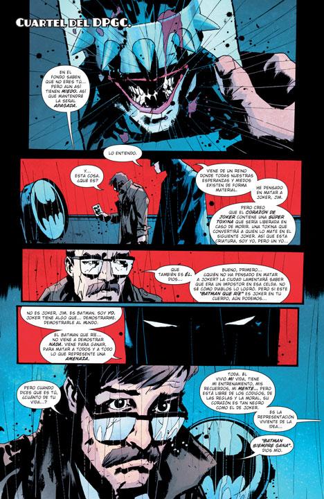 ¿Quién es y qué busca The Batman Who Laughs?