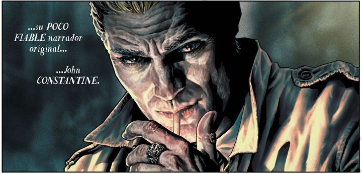La relevancia de Constantine en Batman: Damned, según Brian Azzarello