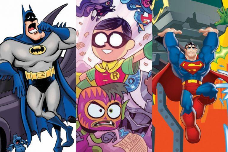 Las mejores ediciones de DC Comics México para niños