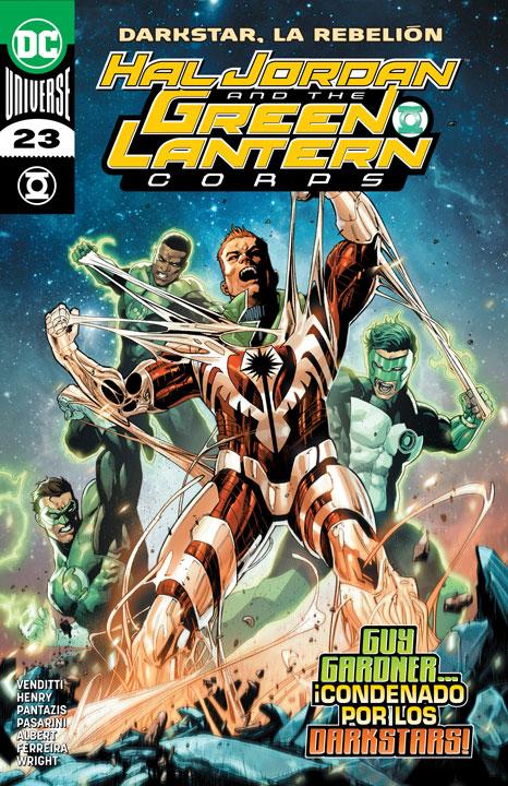 Hal Jordan and the Green Lantern Corps #23