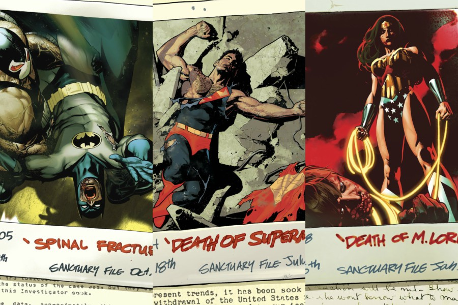 Los expedientes secretos del Sanctuary en Heroes in Crisis