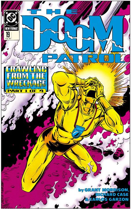 La era de Grant Morrison en Doom Patrol aterriza en SMASH y Vertigo
