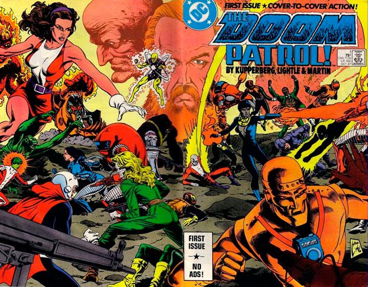 Las diferentes épocas por las que ha pasado Doom Patrol