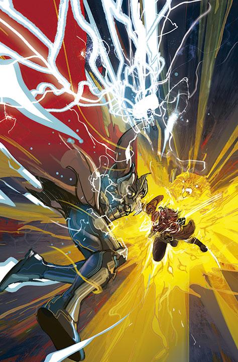 Las ilustraciones cósmicas de Christian Ward en Thor