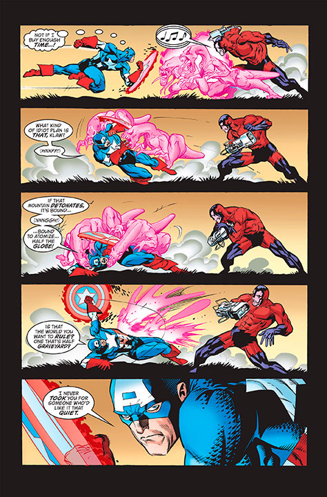 Los trajes más importantes de Captain America