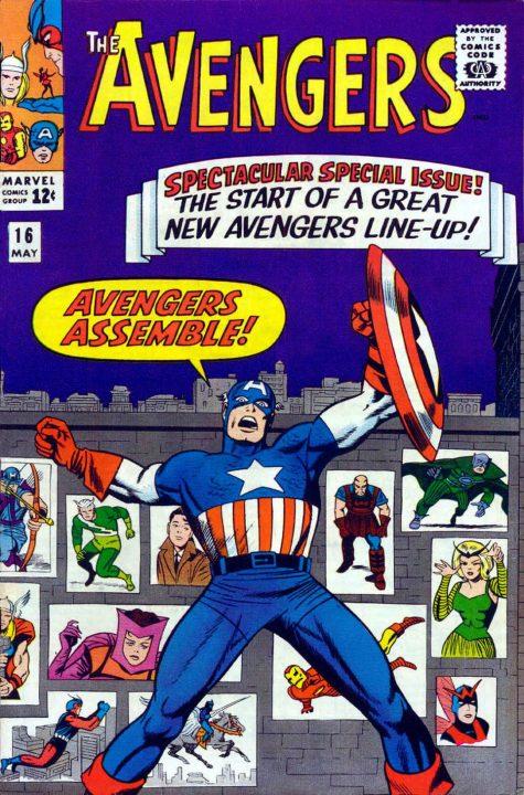 ¿Quién dijo por primera vez ¡Vengadores Unidos! y cuándo fue?