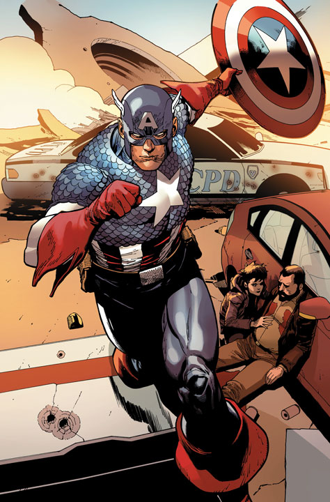 ¿Qué se espera del Captain America en Marvel Fresh Start?