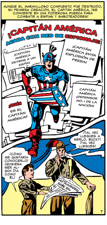 La careta con alas, el escudo indestructible, la súper fuerza… ¿crees conocer todos los poderes de Captain America? Te retamos a demostrarlo. Capitán América