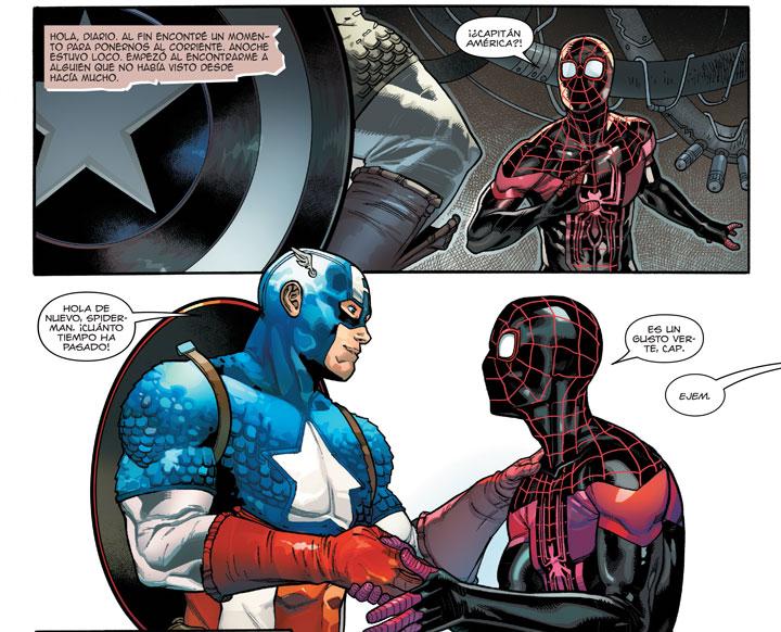 ¿Al fin Captain America y Spider-Man harán las paces?