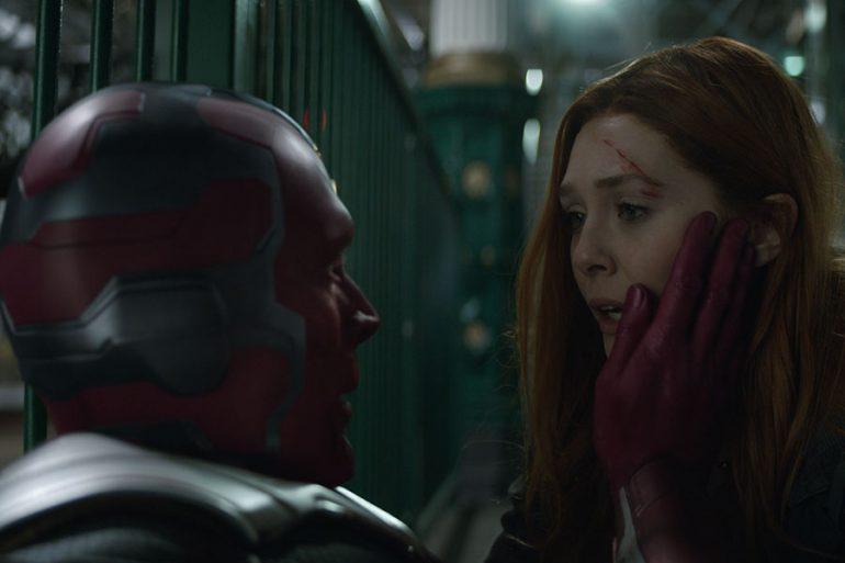 Marvel anuncia WandaVision, la serie de Scarlett Witch y Vision