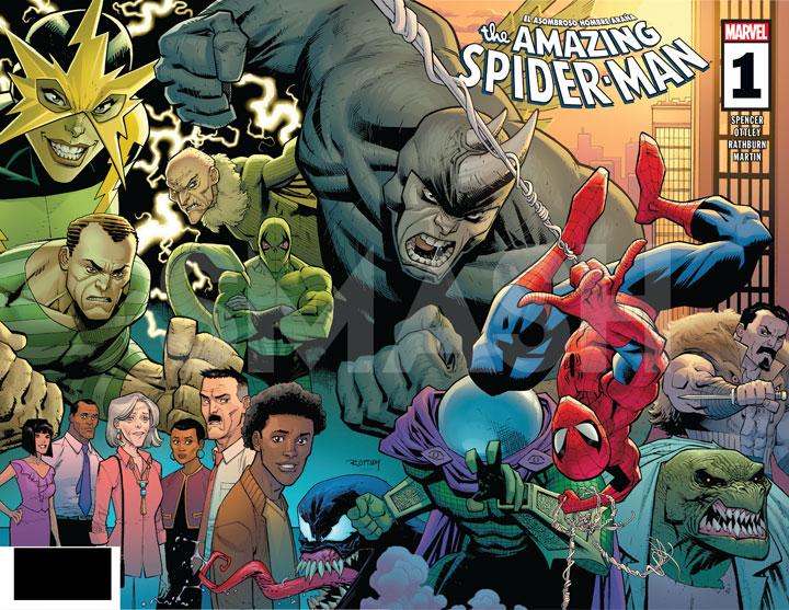 Nick Spencer teje las nuevas telarañas en The Amazing Spider-Man