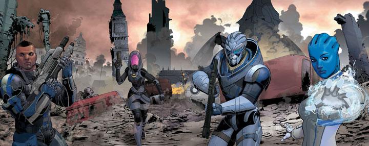 Mass Effect: Homeworlds, el tomo ideal para conocer a los protagonistas