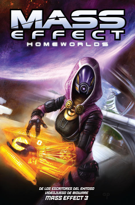Mass Effect: Homeworlds, el tomo ideal para conocer a los protagonistas