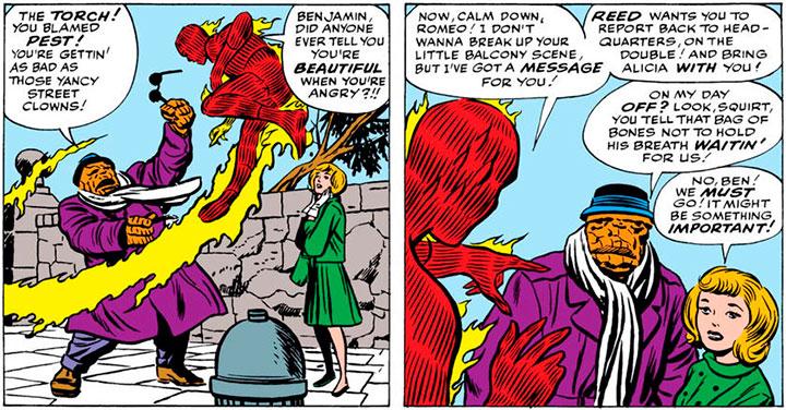 Mejores momentos de Alicia Masters en Fantastic Four