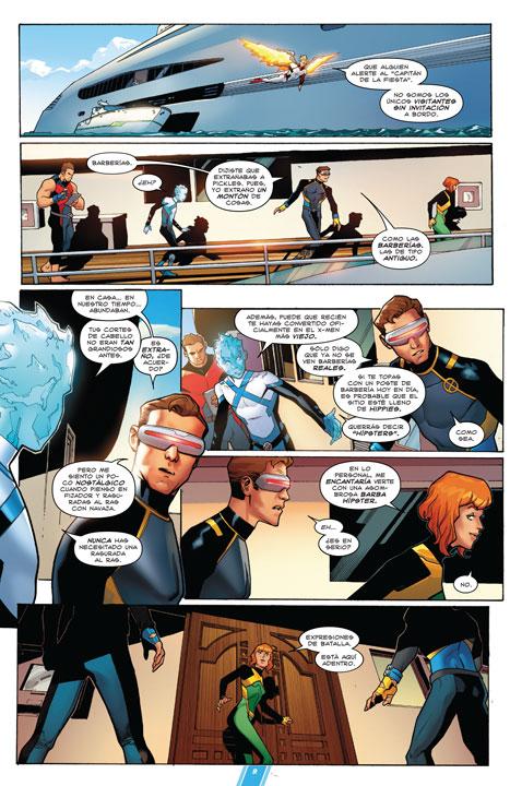 X-Men: Blue Vol. 1: Los más extraños