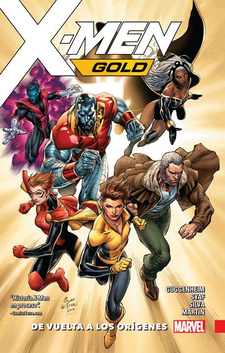 X-Men: Gold Vol. 1: De vuelta a los orígenes