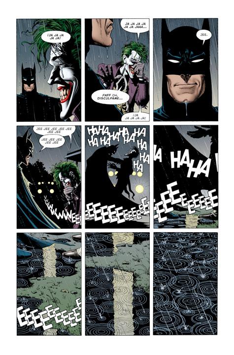 El homenaje de Batman: Damned a The Killing Joke