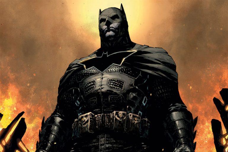 ¡Así será la portada variante de Batman: Damned Libro Tres!