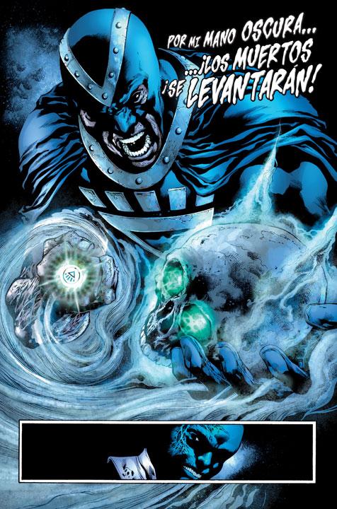 Blackest Night Saga, una historia esencial en la mitología Green Lantern