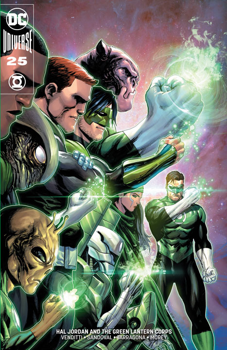 Hal Jordan and the Green Lantern Corps #25