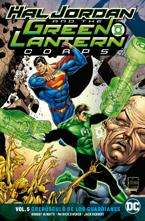 Hal Jordan and the Green Lantern Corps Vol. 6: Crepúsculo de los Guardianes