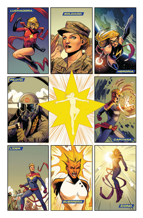 ¡El regreso triunfal de Captain Marvel a SMASH y Marvel Comics México!