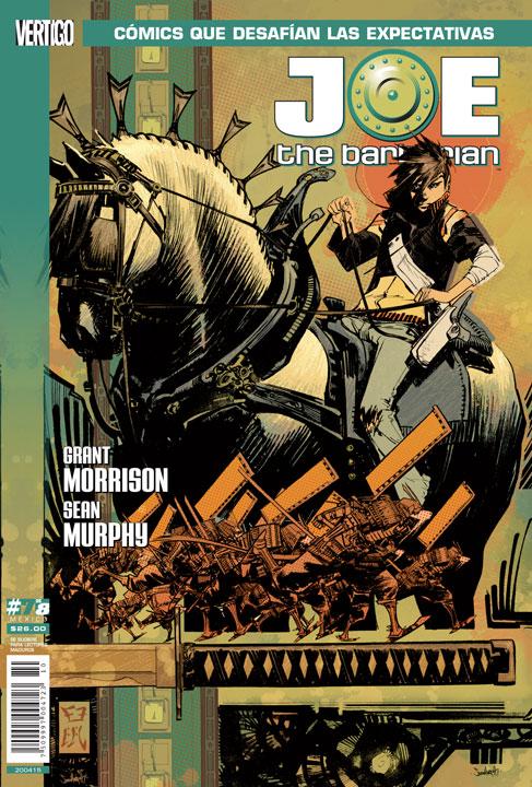 La fantasía de Joe the Barbarian vuelve a SMASH y DC Vertigo