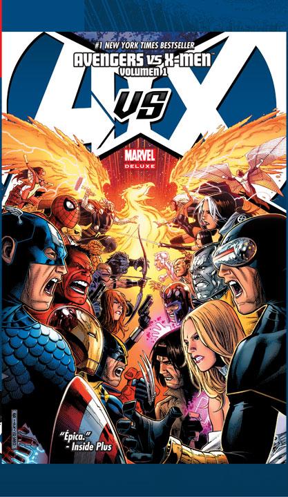 ¡Sigue la huella de Fénix Oscura en Marvel Comics México y SMASH!