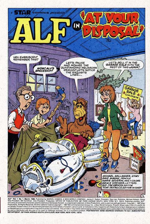 ALF: El extraterrestre que también aterrizó en la órbita de Marvel