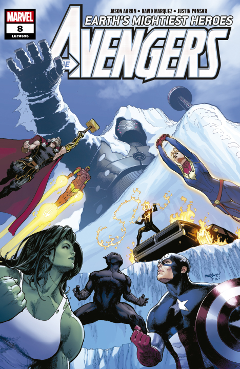 The Avengers Earth's Mightiest Heroes #8