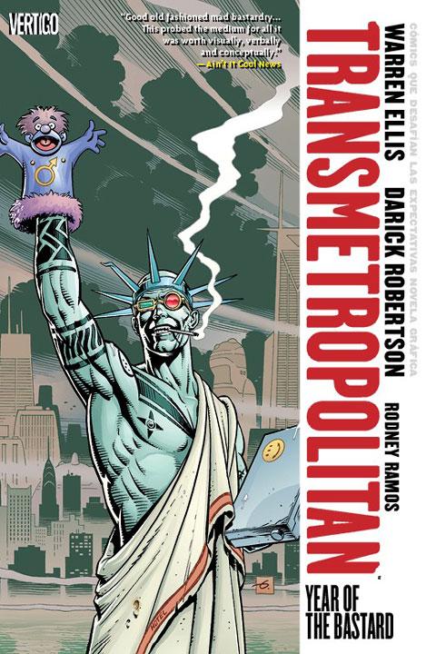 Spider Jerusalem: Un bastardo que regresa a Transmetropolitan Vol.