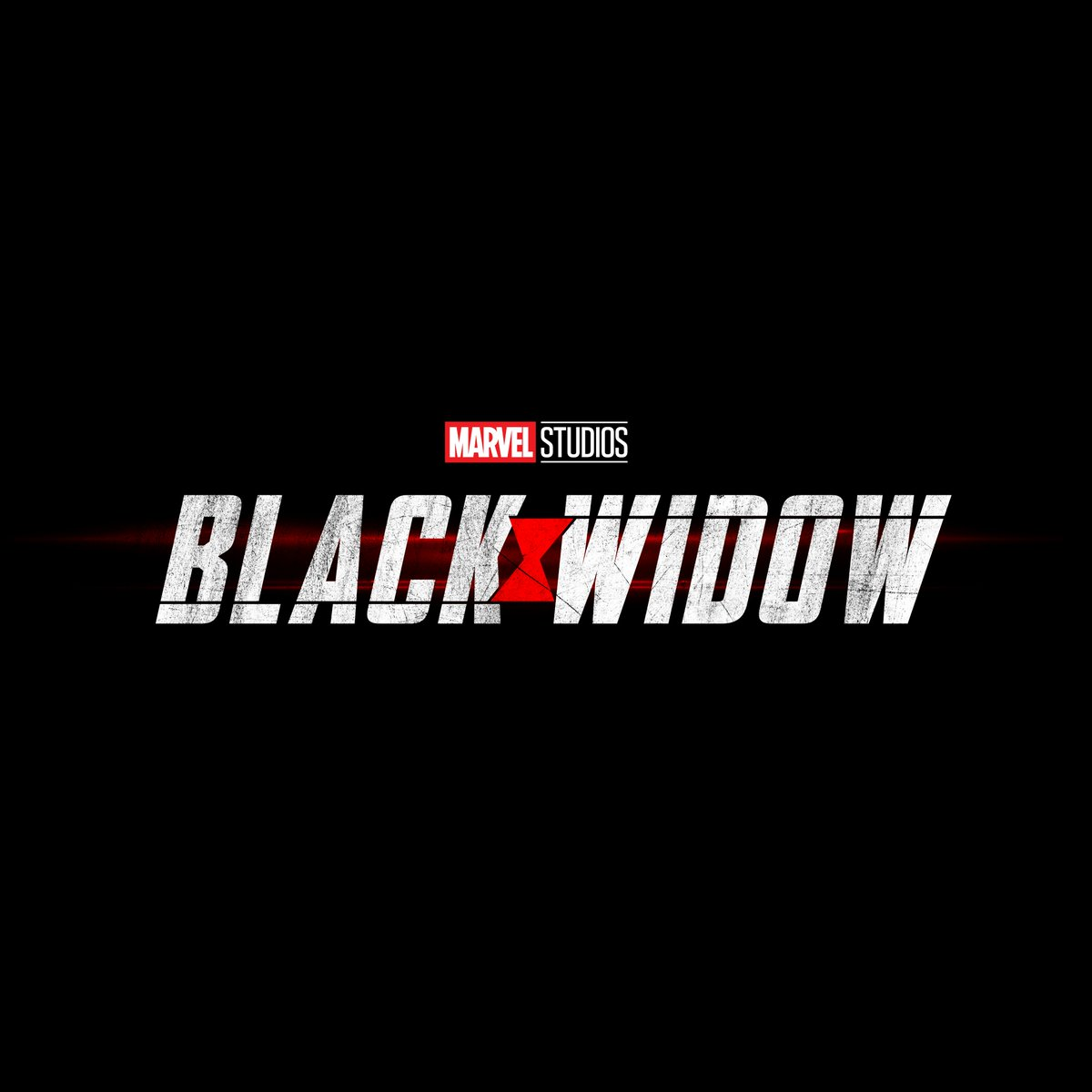 Logo película Black Widow