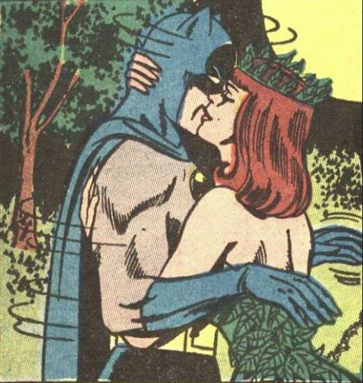 Batman y Pioson Ivy.