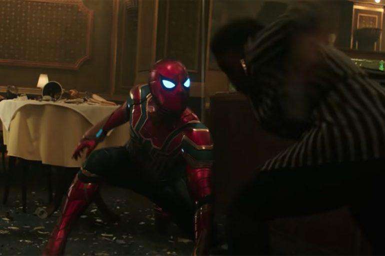 Estas escenas de los trailers no las vimos en Spider-Man: Far From Home