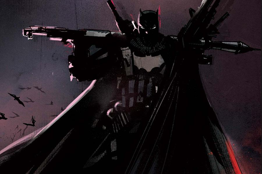 Las más extrañas variantes de Batman y otros personajes en Dark Nights: Death Metal