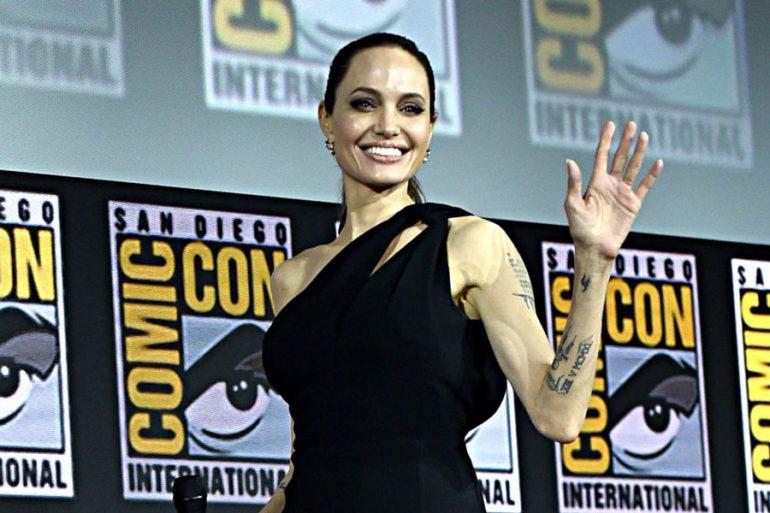 Angelina estará en The Eternals
